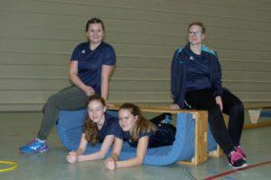 Lena, Marike, Jasmin, Marika (es fehlt Birgit)