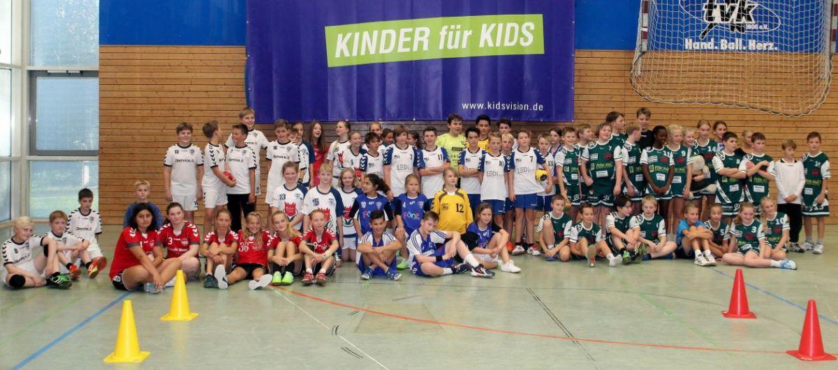 Teilnehmer Kidsvision-Cup 2015