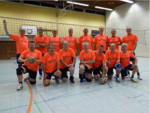 Mannschaftsfoto TVK Volleyball Hobby Männer