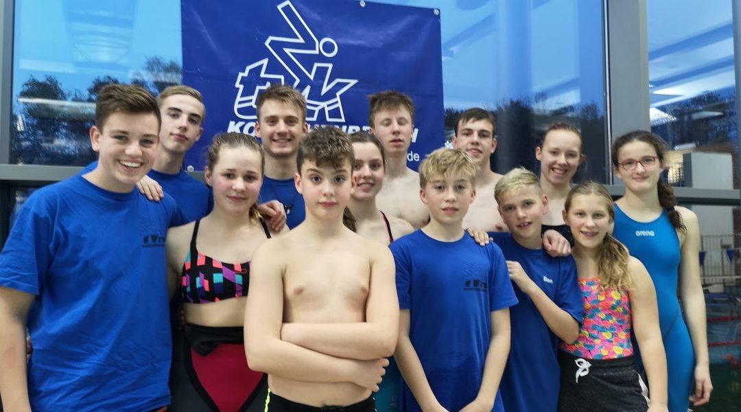 TVK erfolgreich beim Pokalschwimmfest Bottrop
