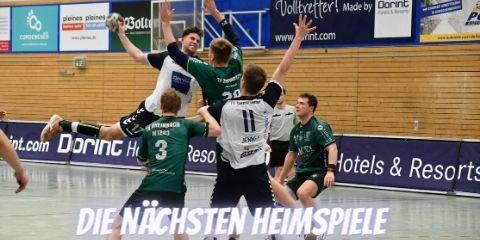 Die Handballheimspiele der TVK-Teams am 3./4. Oktober